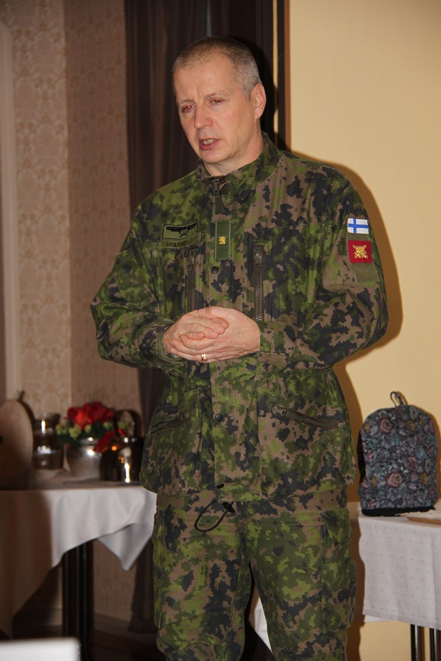 Maavoimien operaatiopäällikkö prikaatikenraali Petri Hulkko.